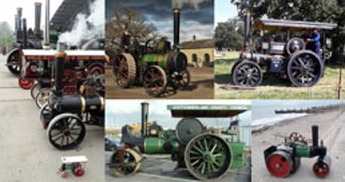 Steam Engines of all size and shape